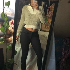 Anthropologie vintage style sweater